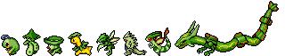 Green Pokemon Sprite Divider by Sweet-Fizz