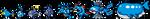 Blue Pokemon Sprite Divider by Sweet-Fizz