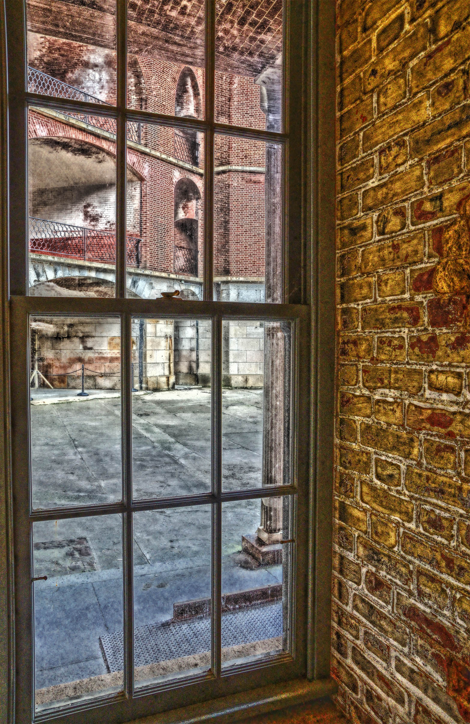 Courtyard Window by PaulWeber