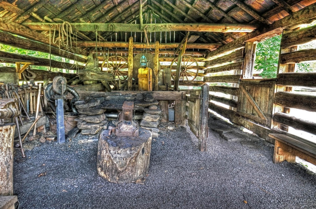 Old Blacksmith Shop by PaulWeber