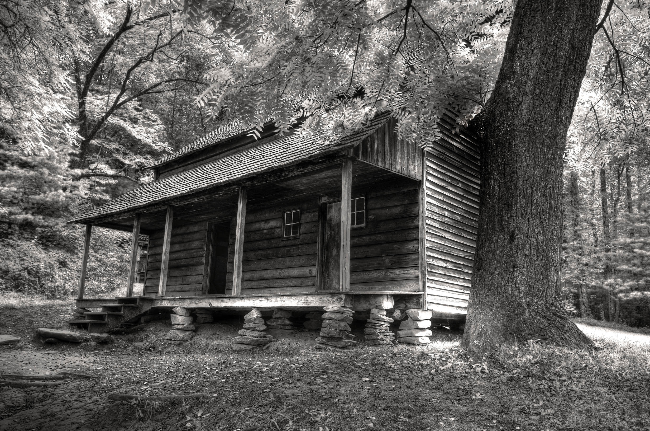 Tennessee Cabin by PaulWeber