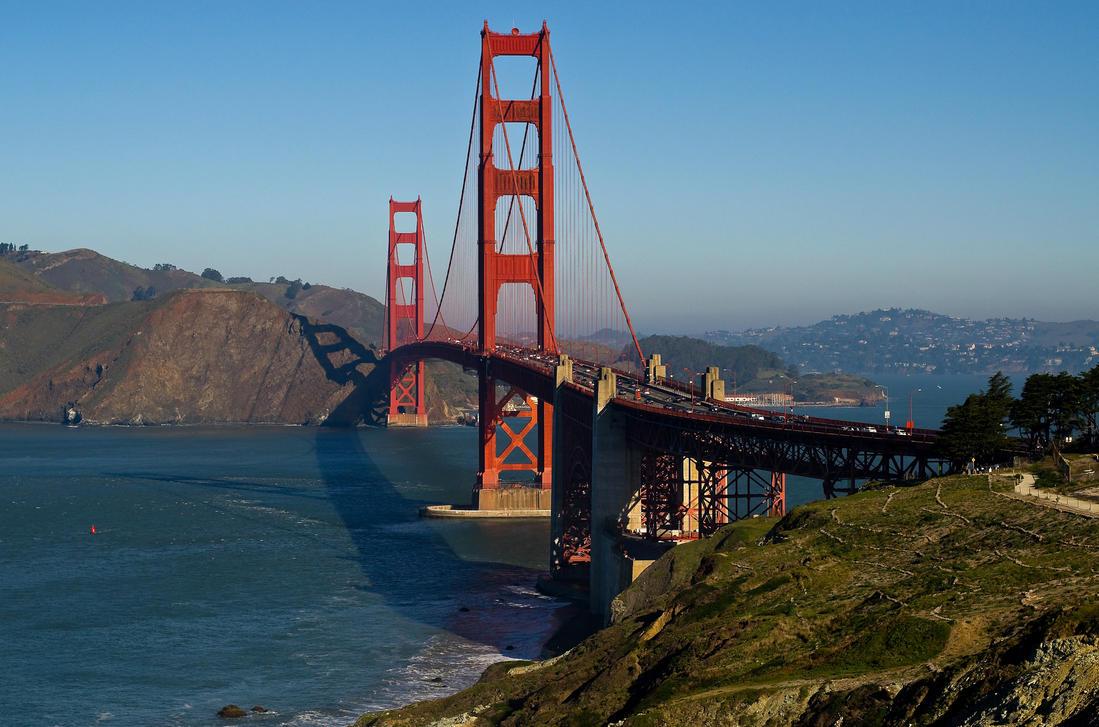 Golden Gate by PaulWeber
