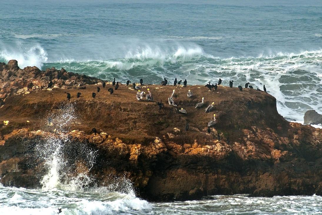 Heavy seas by PaulWeber
