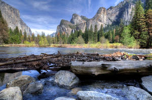 Merced River by PaulWeber