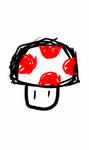 Sketch 1 - Mario Mushroom by Meta-link05