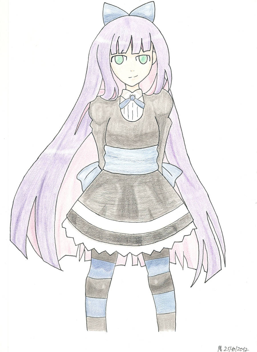 Pigma and Pencil : Stocking by Meta-link05