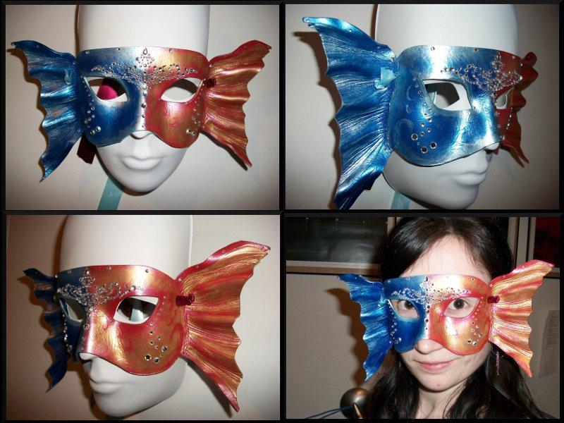 Decorative koi mask by jedi with wings on deviantart - Decoratie kooi ...