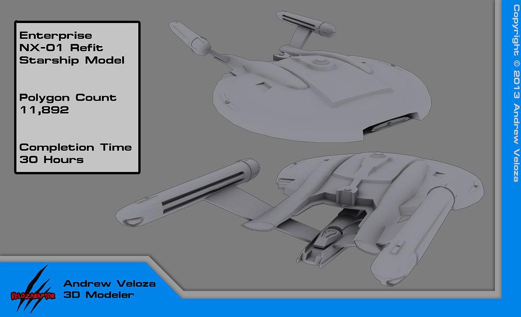 U.S.S. Challenger NX-03 #01 (New Version) by https://www