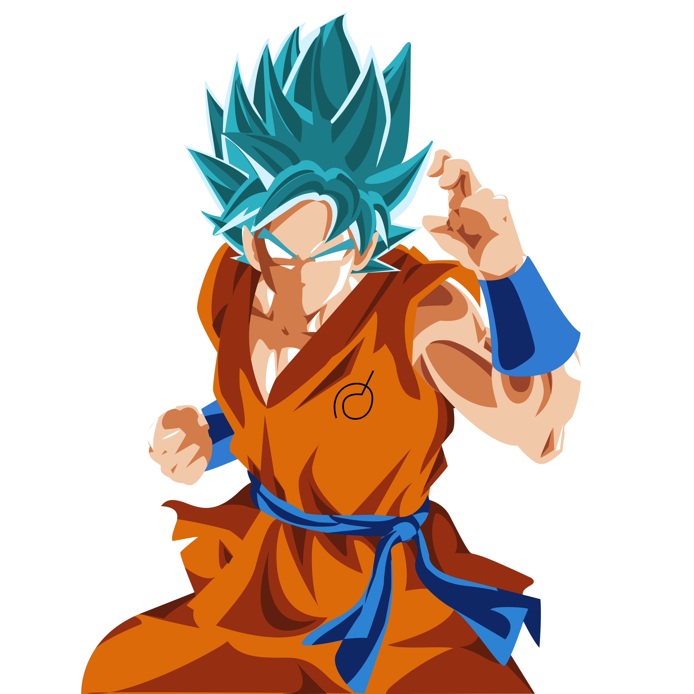Dragon Ball Super Wallpaper 1080p Full Size: Super Saiyan Blue Goku By TheMightyBlues On DeviantArt