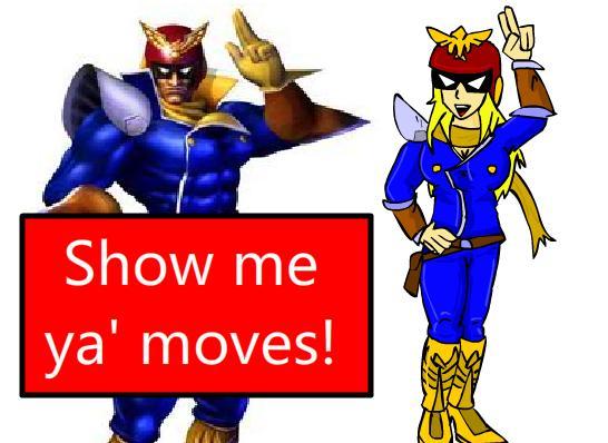 [Image - 32079] | Falcon Punch | Know Your Meme  |Captain Falcon Girl