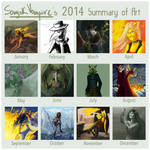 Progress 2014 by SanyokVAMPIRE