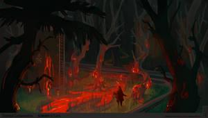 [ChemicalContamination] Contaminated forest