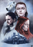 House Stark by iktoriaodo