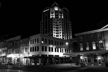 downtown, a night shot II by countermeasures