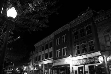 downtown, a night shot III by countermeasures