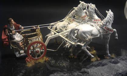 Roman racing chariot by Makingscalemodels