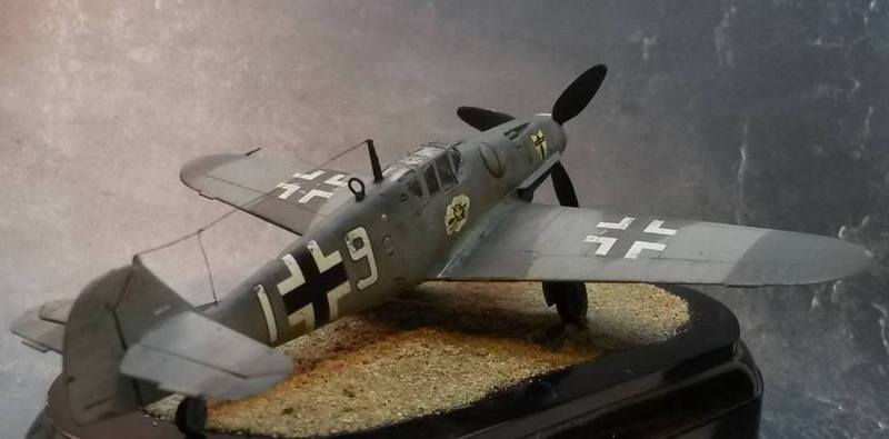 Messerschmitt Bf 109 G-6 1:72 by Makingscalemodels