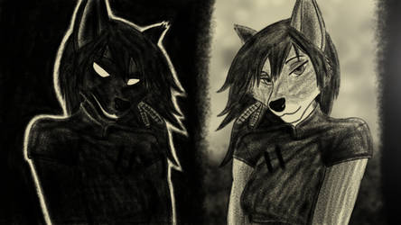 Fridi: Both of Me by Arrach-FridiTCanine