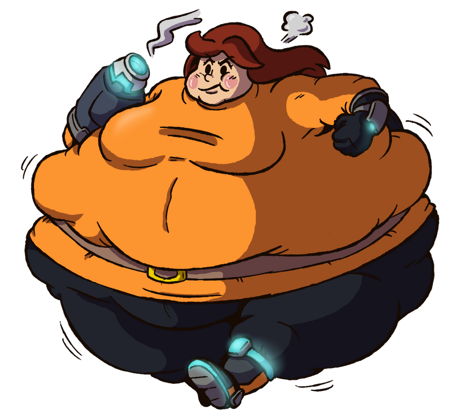 Commission - Fat Mii Gunner By Fiztheancient On Deviantart-1733