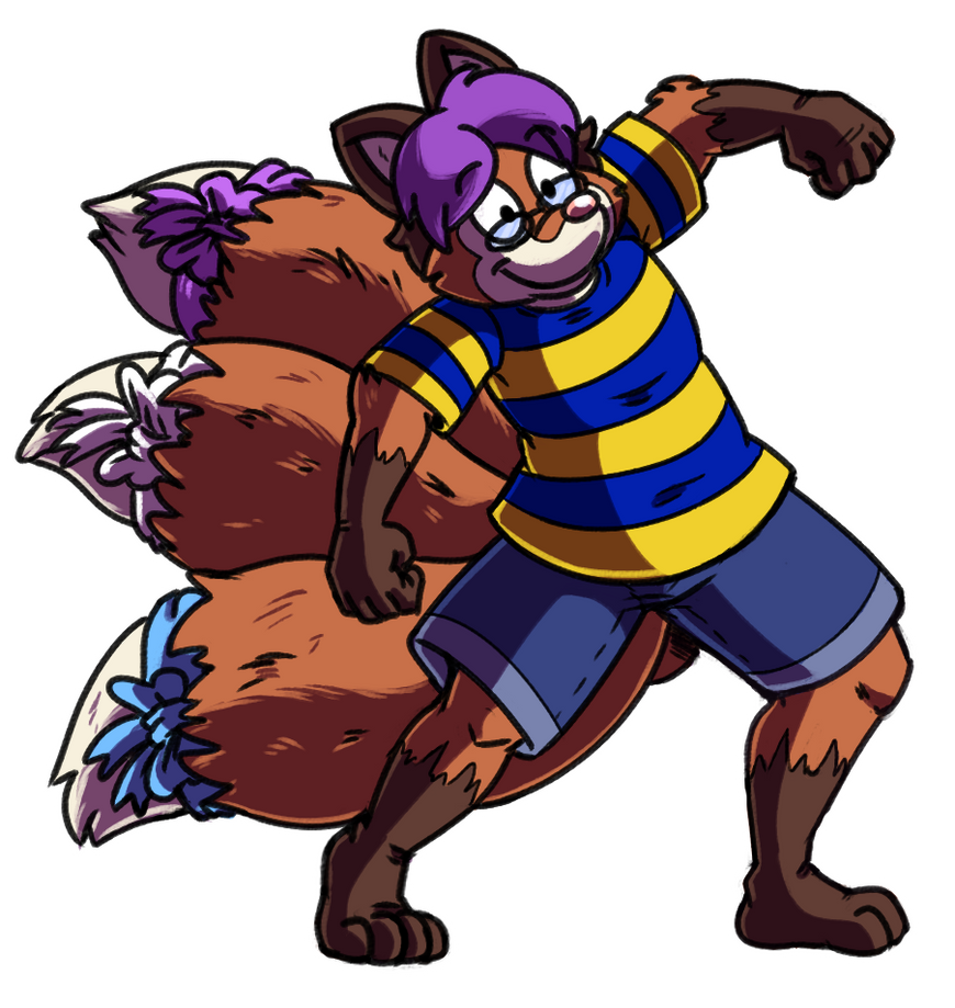 Commission - He'll Krump With You by FizTheAncient