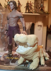 Carter and Woola 1/6 scale: WIP