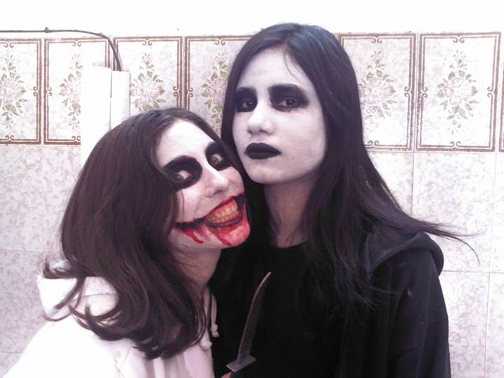 Jeff and jane the killer cosplay