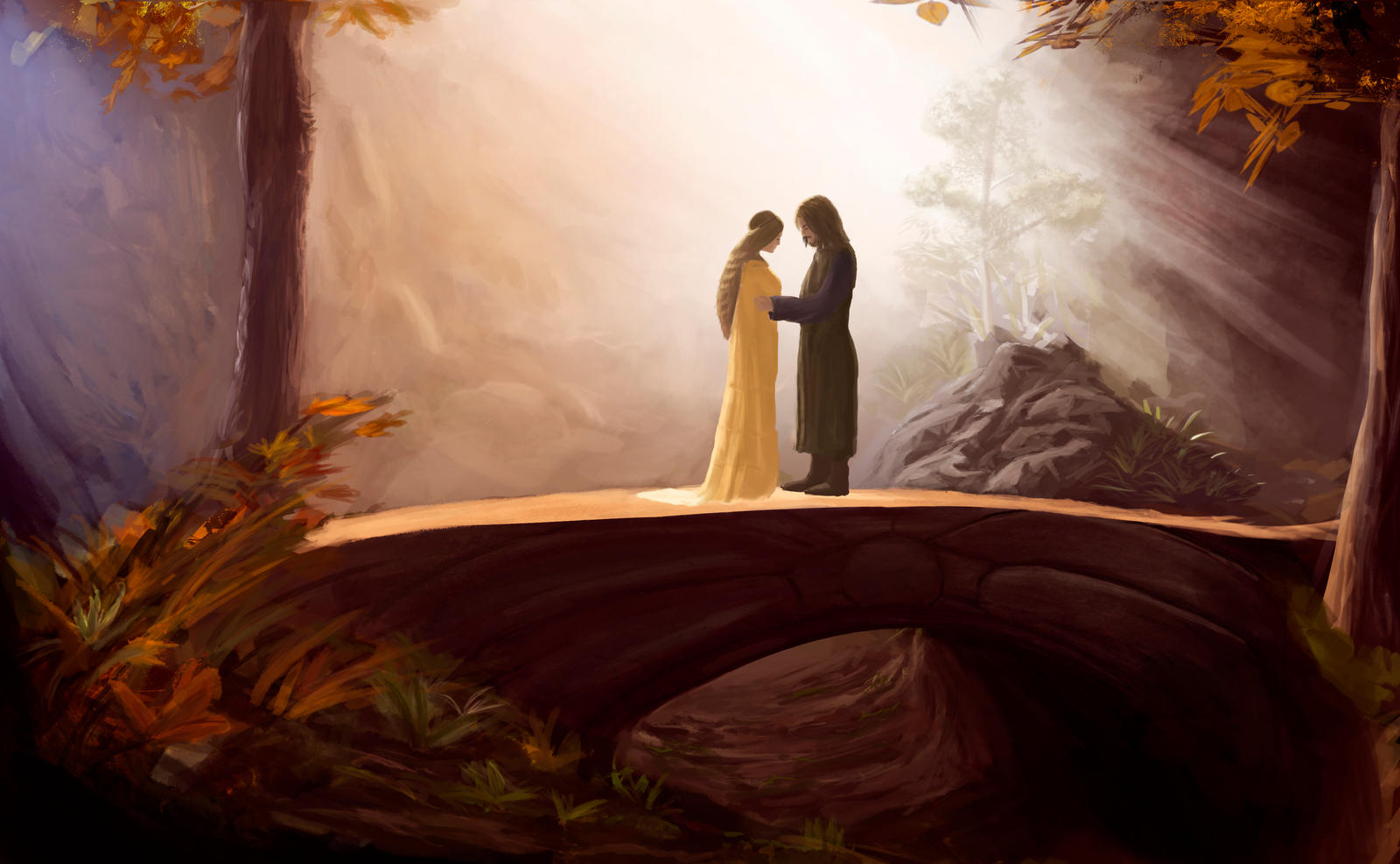 Aragorn and arwen wedding