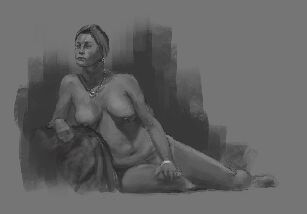 In Class Figure Drawing by theartofTK