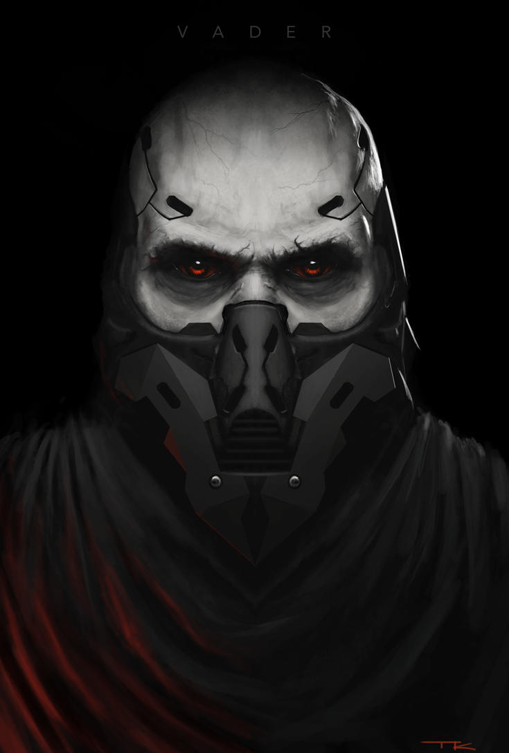Darth Vader Redesign by theartofTK