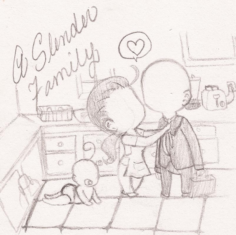 A Slender Family by Sereofchaos