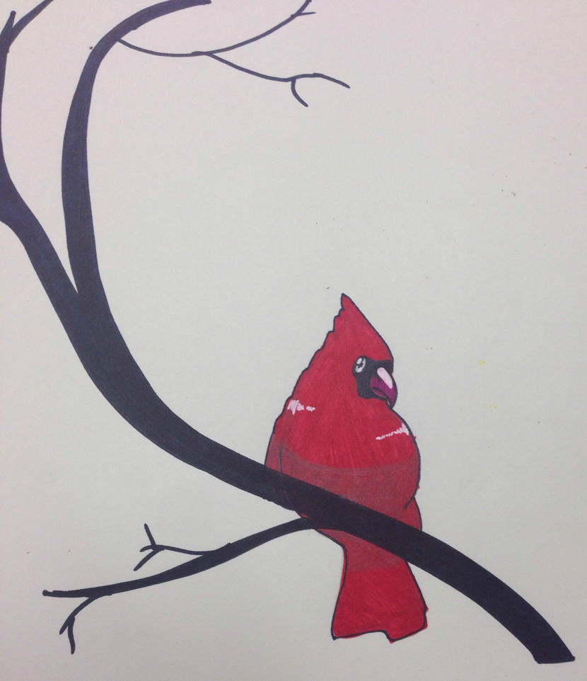 Christmas Bird by Sereofchaos