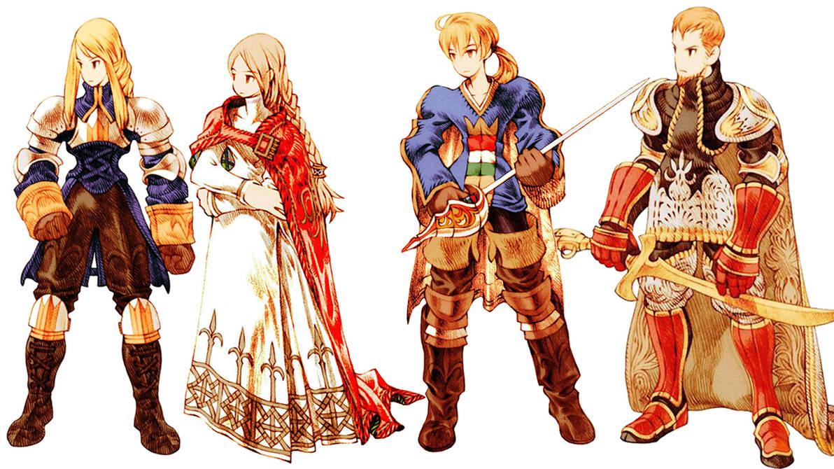Final Fantasy Tactics Wallpaper By Blackmagepaine On Deviantart