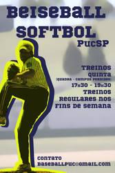 Beiseball Softbol PucSP League by Rockills