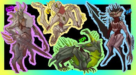 Monster Ota (1/4) Open by zincuddlefish