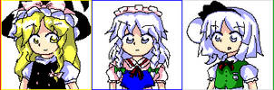 PC-98 Touhou Heroines