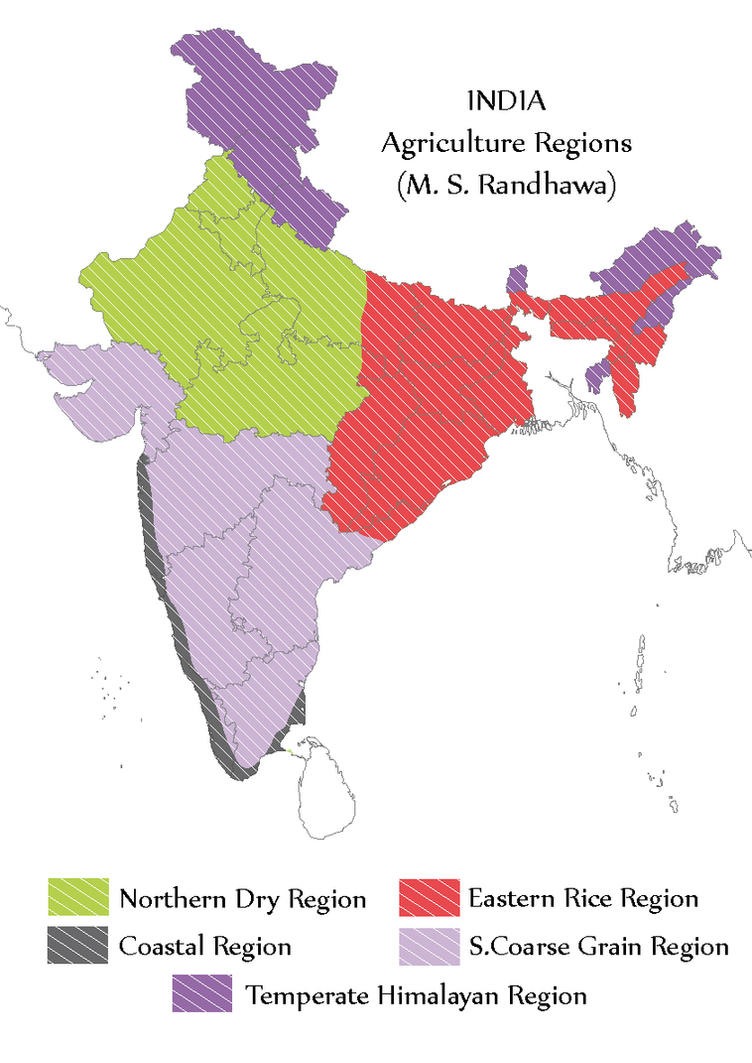 India agriculture regions m s randhawa map by yathish on india agriculture regions m s randhawa map by yathish gumiabroncs Gallery