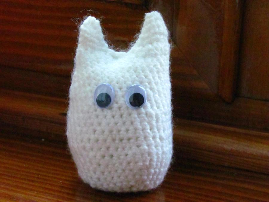 White totoro amigurumi by foxrate on deviantART
