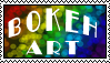 Bokeh Art Stamp by Red--Vs--Blue
