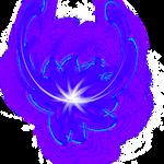 Dark Blue Purple Flower 2