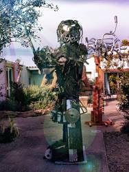 SAMURAI SPKTR MONTANA sculpture#metal#spiktri