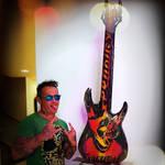 guitarspktr#sculpture#art#spiktri#prodigy#rockstar