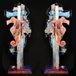spiktri#sculpture#streetart#seahorse#recyclage#gan