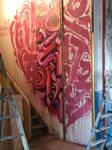 2flui#force#spiktri#art#graffiti#recyclage#streeta