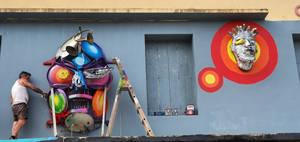 spiktri#akaspraygraffiti#pirat#fanasurfer#gangsy##