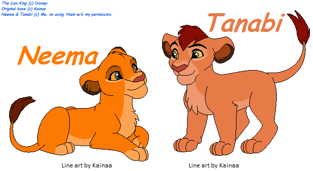 tlk2 au simba and nalas cubs by pacster13 on deviantart