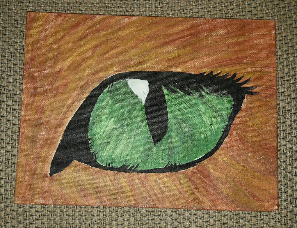 Cat's Eye by HowlerPaw