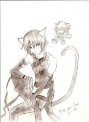 Ikuto and Yoru by A-Black-Angel