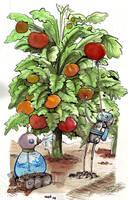 Robot Garden by keshii