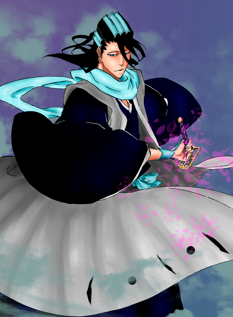 Byakuya Color by gpddasb