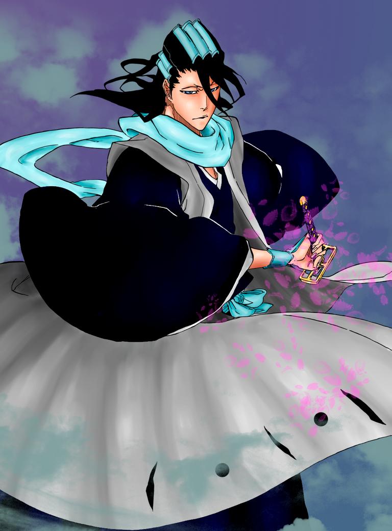Byakuya Color by gpddasb
